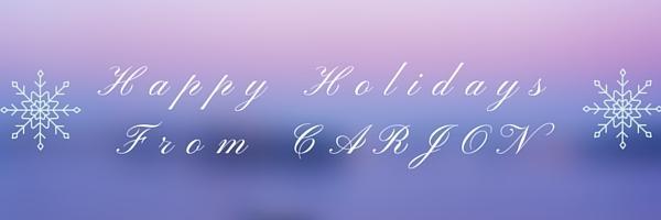 Happy Holidays from CARJON