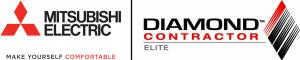 Mitsubishi Electric Diamond Contractor logo