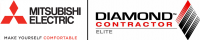 Mitsubishi Electric Diamond Contractor logo