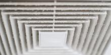 a dusty vent
